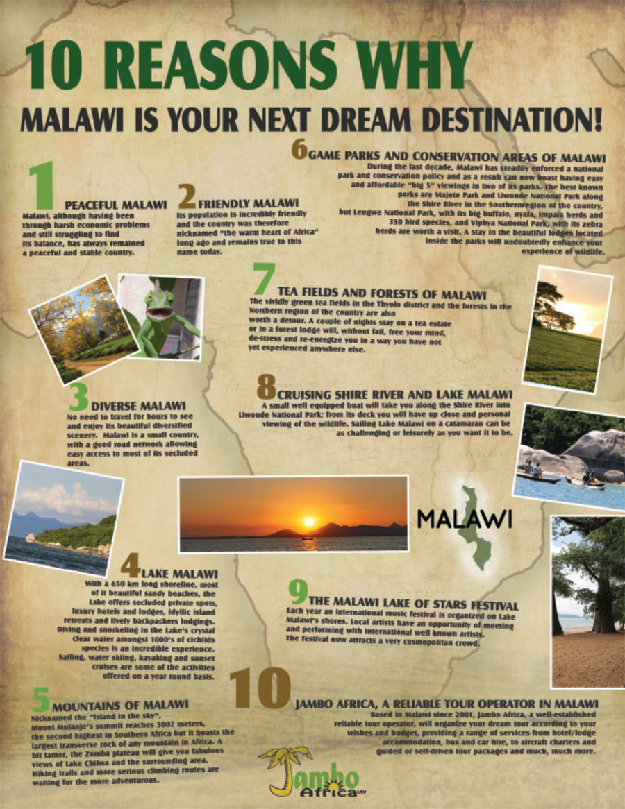 Ten Reasons Why Malawi is your next Dream Destination ...